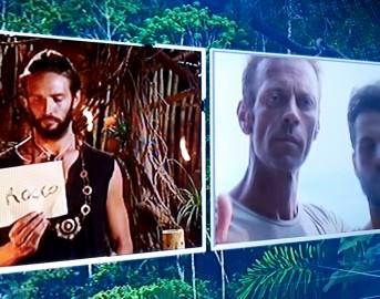 Isola dei Famosi 2015: Rocco Siffredi al televoto con Andrea Montovoli