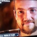 Valerio Scanu messaggio di Maria De Filippi