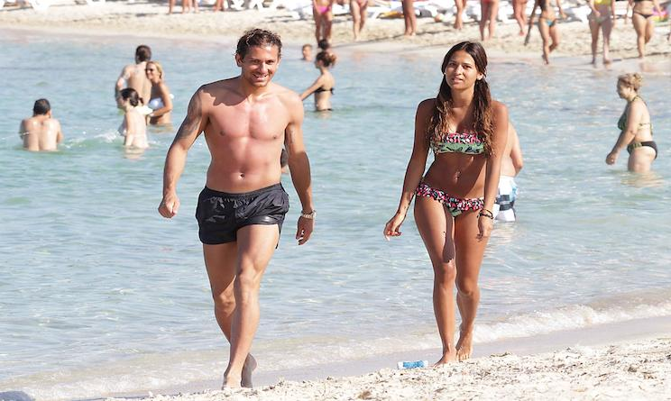 Matrimonio Spiaggia Roma : Alessio cerci e federica riccardi matrimonio lui le ha