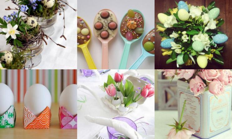 Pasqua 2015 decorare la tavola che sia shabby elegante o classica l 39 importante il - Centro tavola per pasqua ...