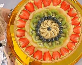 Ricette Dolci dopo il tiggì: la crostata di frutta di Anna Moroni