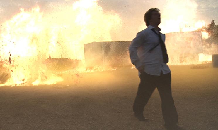 Michelangelo Frisoni effetti speciali, esplosioni