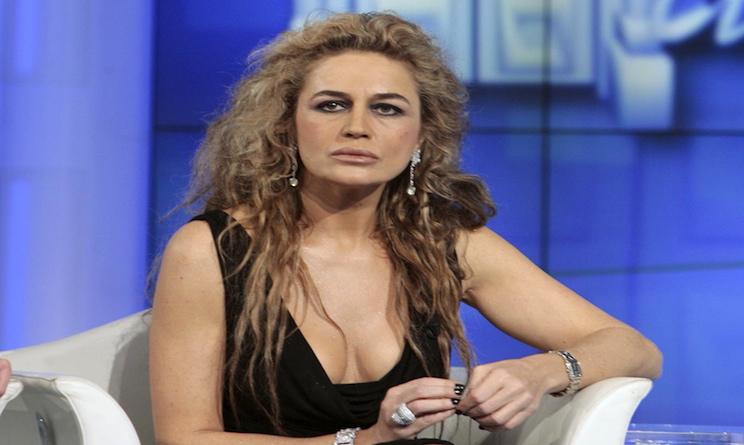 Lory Del Santo a Domenica Live