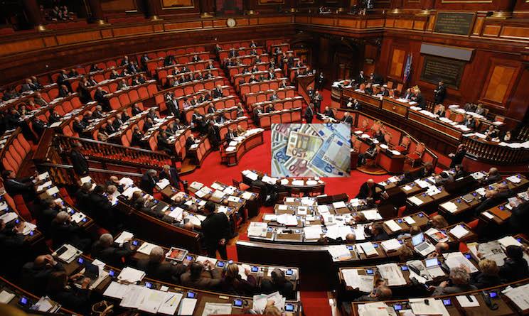 stipendio politici italiani