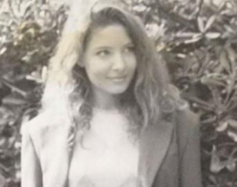 Selvaggia Lucarelli Facebook: foto a 16 anni con gli stessi zigomi