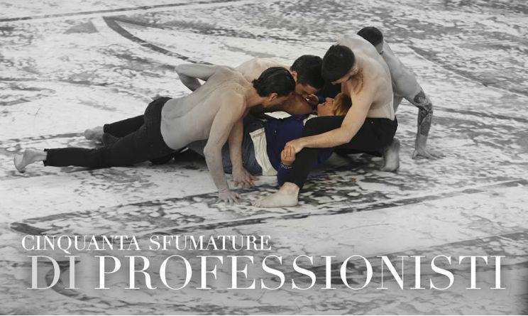 Amici 14 puntata 21 marzo 2015 signora con ballerini