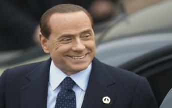 Silvio Berlusconi a Domenica live: dal No al referendum al Milan