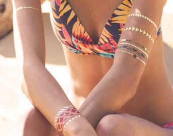 Tendenze moda primavera estate 2015: il tatuaggio gioiello è il nuovo must have
