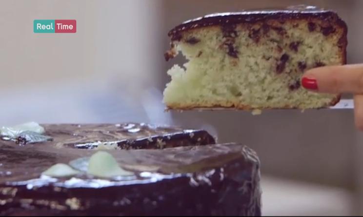 Ricette Dolci Benedetta Parodi Torta Menta E Gocce Di Cioccolato Di