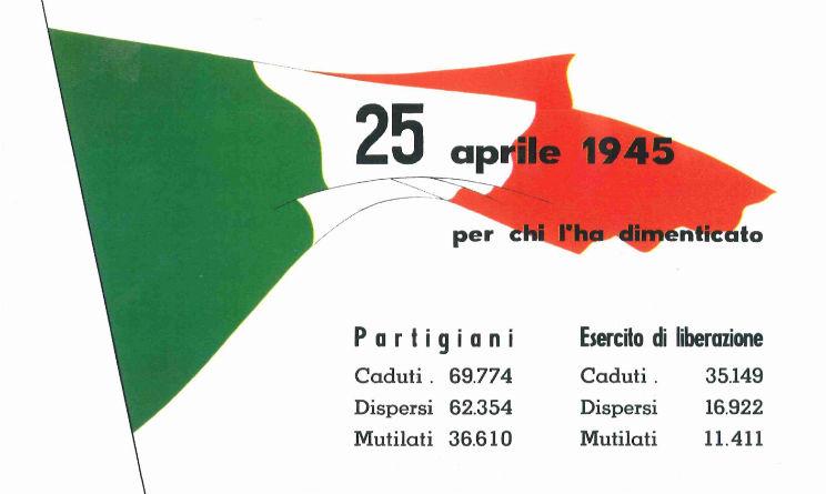 25 aprile 2015 eventi in tutta Italia