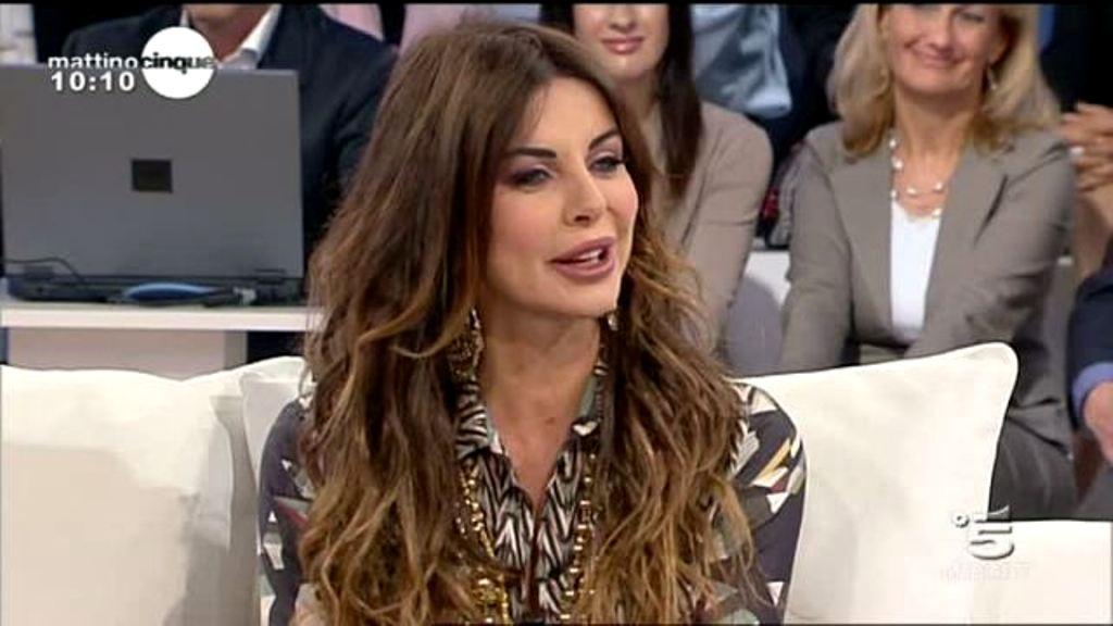 Alba Parietti attacca Daniela Santanchè