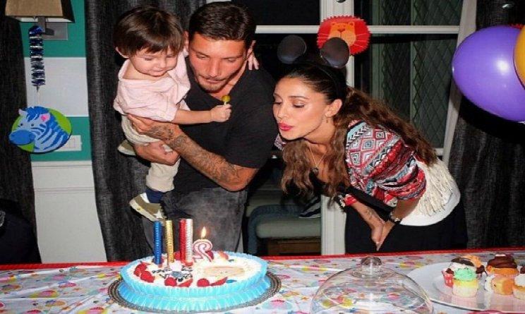 BElen e Stefano ecco chi c'era alla festa di compleanno di Santiago
