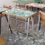 Crolla soffitto a scuola ad Ostuni