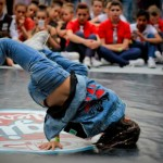 ballerino di hip hop evento Padova 2015