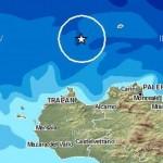 Terremoto al largo di Palermo e Trapani