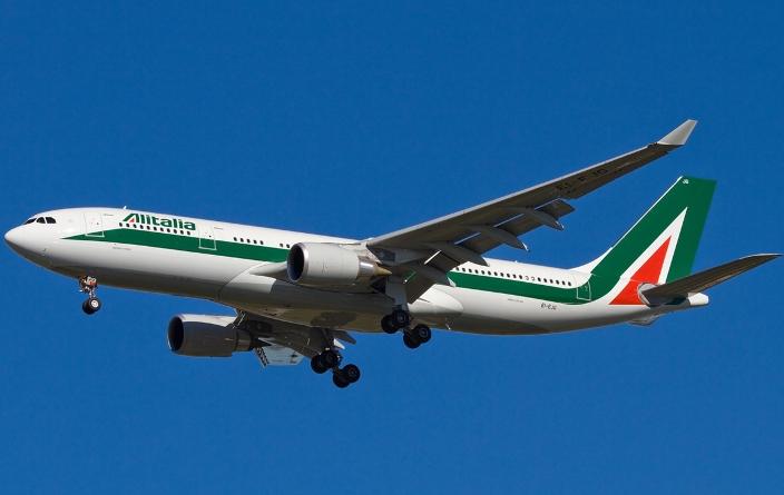 bagaglio sospetto su volo Alitalia