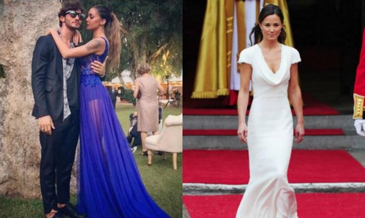 Vestiti Eleganti Vip.Abito Da Sposa Di Lusso Vestiti Da Sera Delle Star