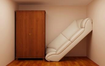 Arredare casa: Spazi piccoli? Ecco 5 idee per rendere le vostre stanze più grandi