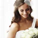 Capelli sposa 2015 il semiraccolto idee e accessori