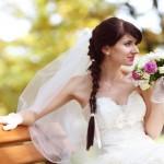 Ecco 3 acconciature con treccia per le spose 2015