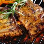 Costoletta di maiale grigliata. Image Credit: Shutterstock