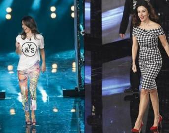 """Look da vip: Sabrina Ferilli e il casual chic della seconda puntata di """"Amici"""" ispirato alle tendenze primavera 2015"""