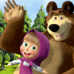Qual'è la serie animata più amata tra masha e Orso