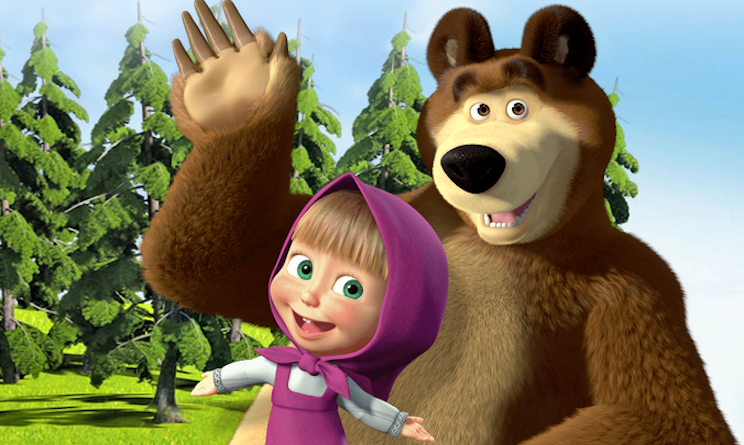 Masha e orso o peppa pig: qual è la serie animata più amata? ecco