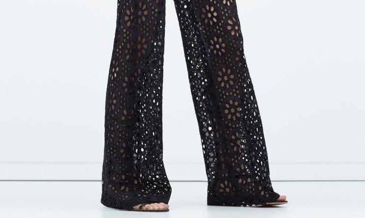 pantaloni sangallo