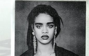 Sopracciglia 2015, Rihanna punta al look boyish imitando Frida Kahlo