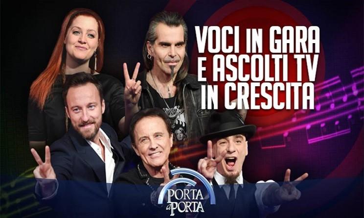 Porta a porta stasera in tv ospiti i giudici di the voice - Porta a porta ospiti stasera ...