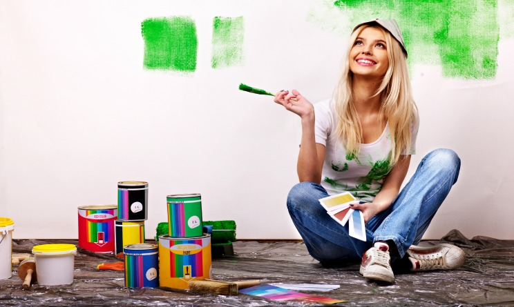 Tinteggiare casa come scegliere i colori per dipingere le - Idee per dipingere casa ...
