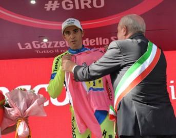 Giro d'Italia 2015 14ª tappa: Kiryenka vince la cronometro, Contador si riprende la Maglia Rosa