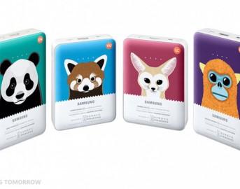 Samsung Galaxy S6 e S6 Edge caricabatterie portatili: i nuovi Battery Pack Animal