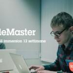 Codemaster borse di studio web developer