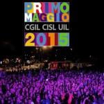 Concerto primo magio 2015 Roma scaletta orari