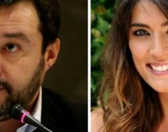 Matteo Salvini ed Elisa Isoardi di nuovo insieme: prima uscita pubblica dopo il 'bacio traditore' di lei (FOTO)
