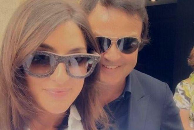 Elisa Isoardi selfie