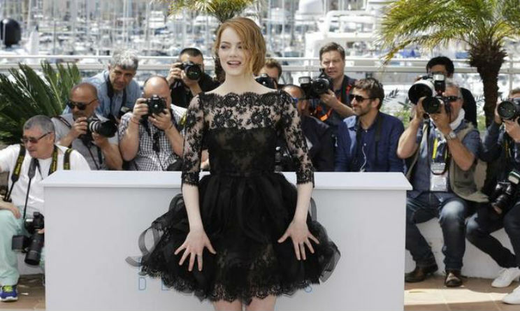Emma Stone Festival di Cannes gonna