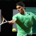 Federer infortunio