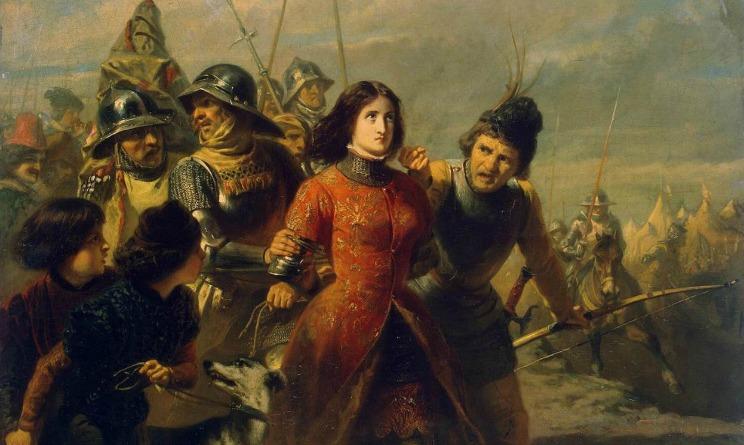 Giovanna d'Arco morì sul rogo
