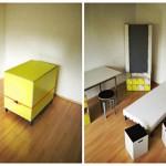 Arredamento monolocale scatola
