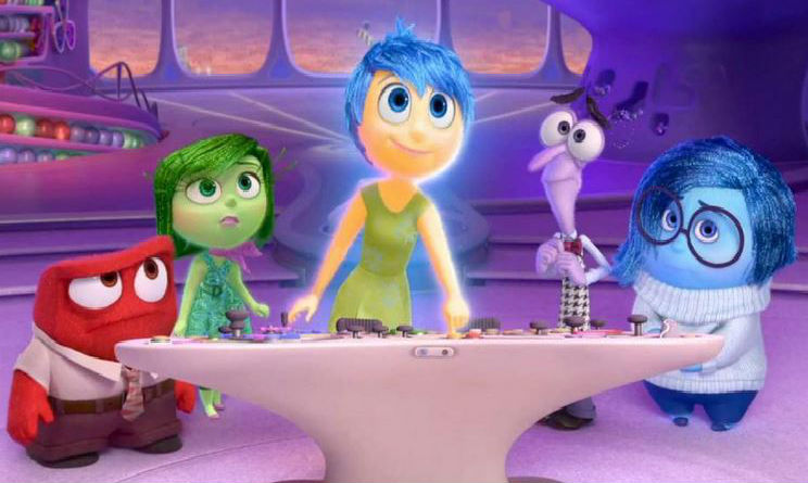 Festival di Cannes 2015 Inside Out Pixar