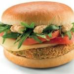 McVeggie hamburger vegetariano