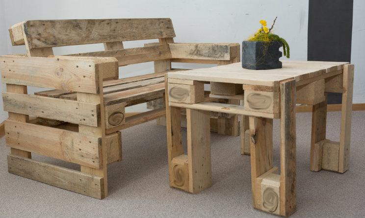 Arredare casa fai da te 3 idee con i bancali di legno for Bancali legno per arredare