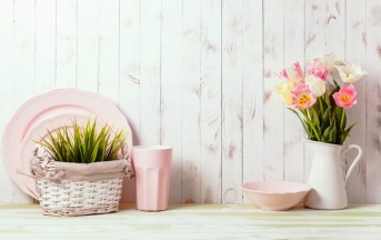 Arredare casa: lo stile shabby chic per la cucina, ecco gli accessori giusti