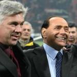 Berlusconi Ancelotti