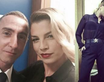 Look da vip: Emma Marrone sensuale e mascolina per i TV Awards, ecco l'outfit vincente