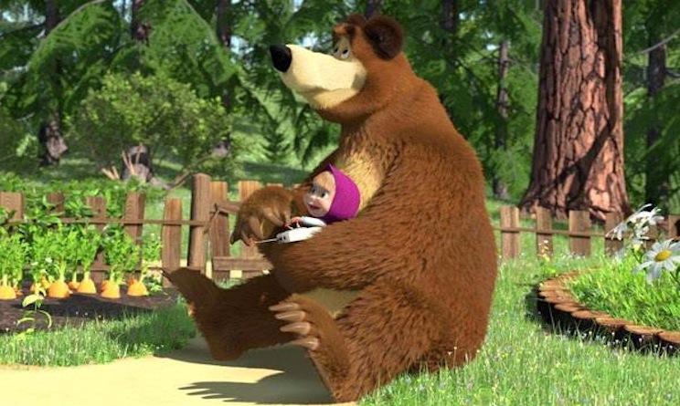 Festa della mamma la torta di masha e orso urbanpost