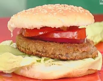 La prova del cuoco oggi: hamburger di legumi di Marco Bianchi